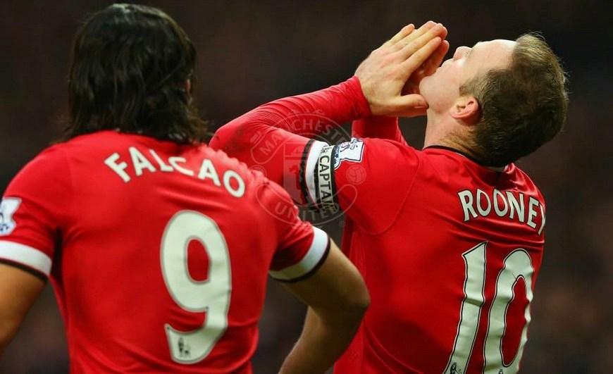 Rooney y Falcao