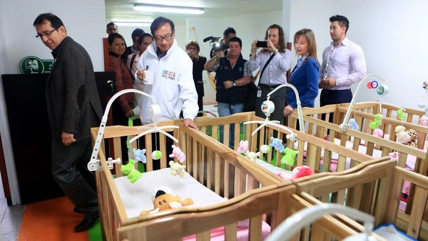 Alcald a de bogot entreg jard n infantil para ni os de for Vendo jardin infantil 2015