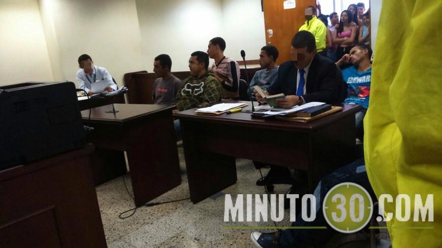 Audiencia de legalización de captura de 'los Conejos'.