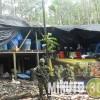 Tropas de la Brigada de Selva N° 27 de la Sexta División del Ejército Nacional, destruyeron un laboratorio para producir coca.