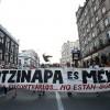 Miles de mexicanos marcharon en la ciudad de Guadalajara, occidente de México, para recordar a los jóvenes que desaparecieron el 26 de septiembre pasado en Iguala y exigir justicia en el caso. EFE