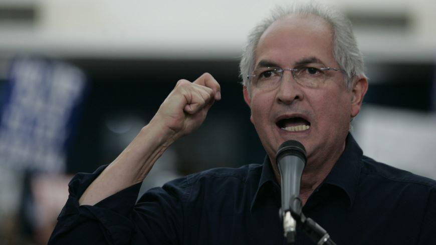 El alcalde de Caracas, Antonio Ledezma. EFE/Archivo