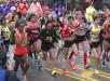 Vista general del comienzo de la carrera femenina del maratón de Boston, Massachusetts, Estados Unidos este 20 de abril de 2015. EFE