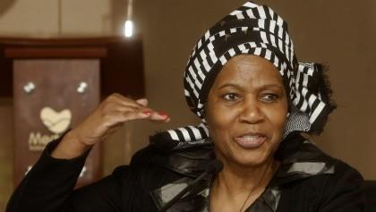 La directora ejecutiva de ONU Mujeres, Phumzile Mlambo-Ngcuka. EFE/Archivo