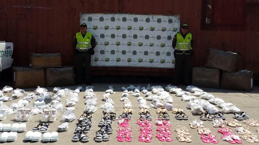Foto: Policía Fiscal y Aduanera de Medellín.
