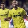 El delantero del Villarreal Roberto Soldado celebra su gol, primero del equipo, durante el partido de la segunda jornada de Liga en Primera División que Villarreal y RCD Espanyol disputan esta tarde en el Madrigal. EFE