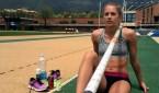 La atleta Kira Grünberg.