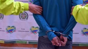 Uno de los implicados en un caso de homicidio. Foto: Policía Nacional .