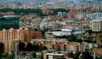 Vista panorámica de Bogotá