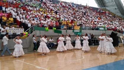 Inauguración de las justas. Foto Inder Medellín.