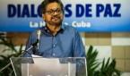 """Fotografía tomada el pasado 30 de agosto en la que se registró al segundo jefe de las FARC y líder de los delegados de este guerrilla en los diálogos de paz con el Gobierno de Colombia, Luciano Marín, alias """"Iván Márquez"""", en La Habana (Cuba). EFE"""
