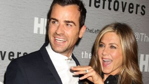 Justin Theroux y Jennifer Aniston / Tomada de Internet.