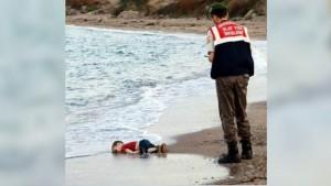 niño migrante muerto