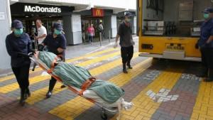 mujer muerta en china
