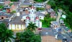 Parque principal de San Andrés de Cuerquia. Foto: Internet