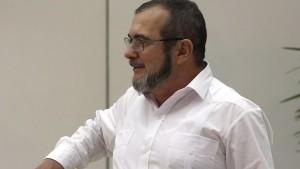 En la imagen, el máximo líder de las Farc, Rodrigo Londoño, alias 'Timochenko'. EFE/Archivo