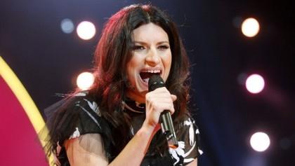 Fotografía tomada el pasado 24 de octubre en la que se registró a la cantante italiana, Laura Pausini, durante una actuación en Madrid (España). EFE/Archivo