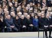 El presidente François Hollande y otros miembros del Gobierno asistieron al homenaje a las víctimas de los atentados del pasado día 13 de noviembre en París y Saint Denis. Foto: EFE.