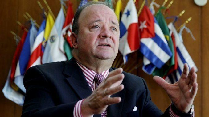 Luis Carlos Villegas, ministro de Defensa. Foto: EFE / Archivo.