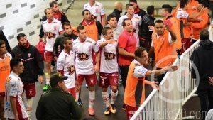 Pelea Copa Libertadores Huracan vs Nacional cuartos(2)