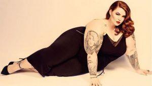 Tess Holiday, modelo de talla grande/ Tomada de Instagram