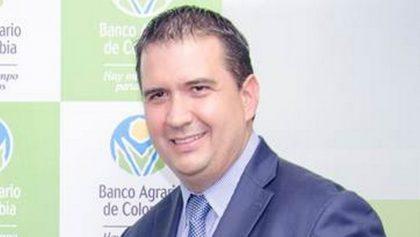 Francisco Solano Mendoza, presidente del Banco Agrario.