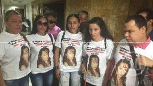 Personas que estuvieron presentes en la audiencia de imputación de cargos a los asesinos de  Enedy Mabel Galeano Galeano.