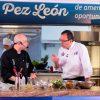 El chef Jorge Rausch y el director general del SENA, Alfonso Prada. Foto: SENA