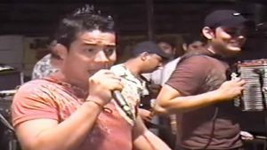 Luis Genaro Villero, cantante vallenato agredido a puñaladas.