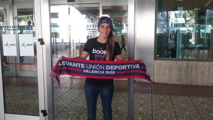 Daniela Montoya. Foto: Levante UD
