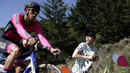 El ciclista colombiano, Juan Sebastián Molano. EFE/Archivo