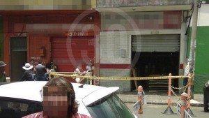 Mujer asesinada en Barrio Triste.