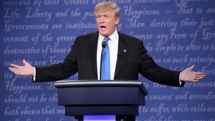Primer debate de candidatos presidenciales estadounidenses - EFE.