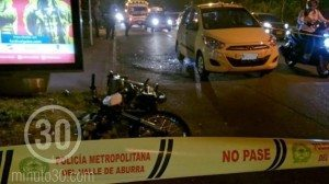 Crimen de taxista. César Augusto Londoño Gil.