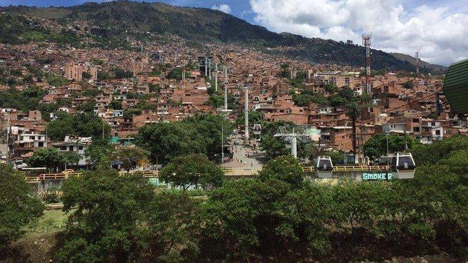 Panorámica de Medellín. Barrio Acevedo