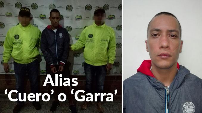 William Alberto Arias Montoya, alias 'Cuero' o 'Garra'
