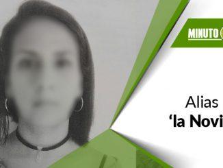 Yury Patricia Graciano David, alias 'la Novia'