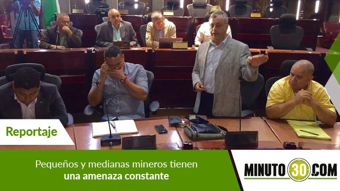Rueda de prensa Comisión Asamblea y Mineros