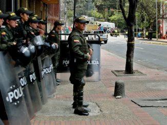 atentado en Bogotá