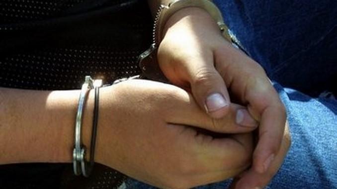 mujer capturada detenida