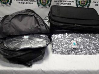 Cocaína incautada en el aeropuerto de Rionegro.