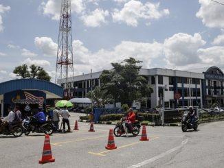 Comisaría del distrito de Sepang.