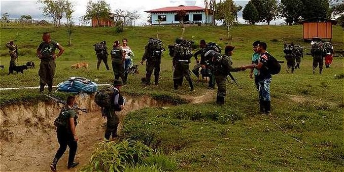 Militar resultó herido al ingresar por error a zona veredal en Guaviare