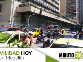 Movilidad en Medellín.