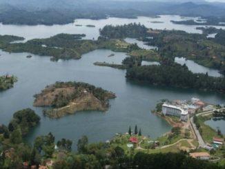 Represa de Guatapé.