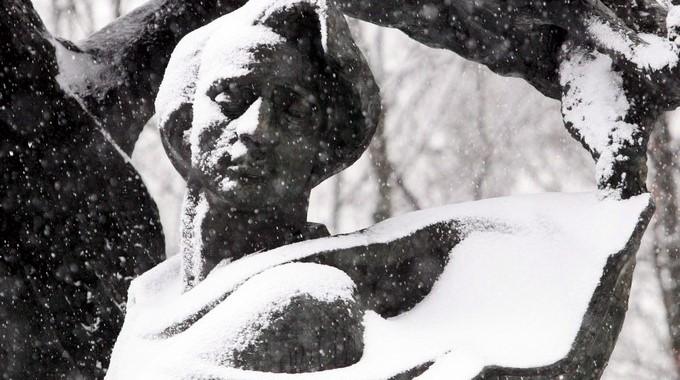 Estatua de Frederick Chopin ubicada en la plaza Lazienki, en el centro de Varsovia. EFEArchivo
