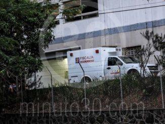Hospital Pablo Tobón Uribe. CTI de la Fiscalía. Inspección del cadáver.