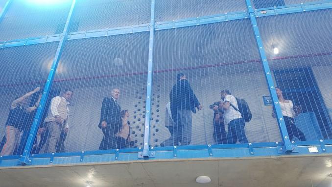 Entrega patio quinto cárcel Bellavista
