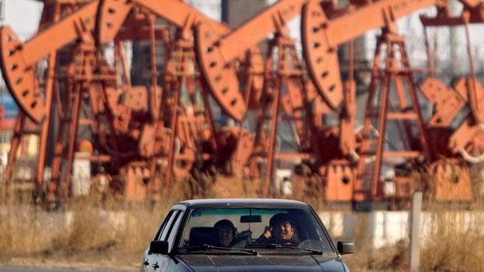 Fotografía de archivo que de una plataforma petrolífera. EFE/Archivo