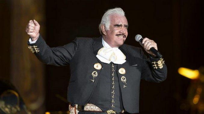 Vicente Fernández. EFE